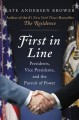 First in line : presidents, vice presidents, and the pursuit of power