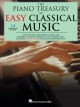 The piano treasury of easy classical music : over 200 great masterpieces from the baroque, clasical, romantic, and modern eras.