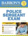 Barron's police sergeant exam.