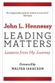 Leading matters : lessons from my journey