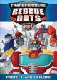 Transformers, Rescue Bots. Protect and explore