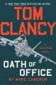 Tom Clancy. Oath of office
