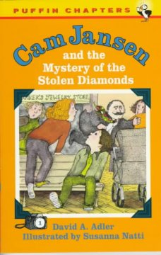 Cam Jansen and the Mystery <br/>of the Stolen Diamond cover art