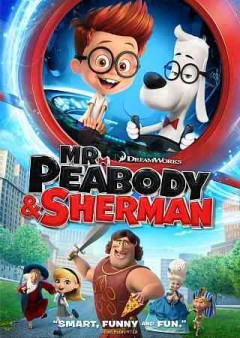 mr peabody and sherman dvd advanced cover art