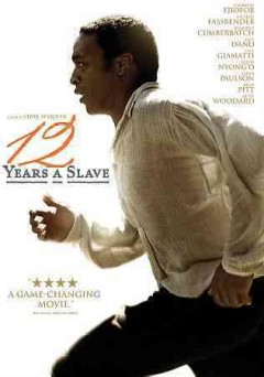12 years a slave dvd cover art