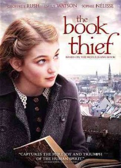 dvd book thief germany cover art