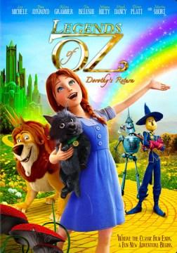 dvd legends of oz return cover art