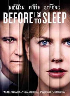 dvd before i go to sleep cover art