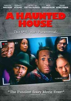 dvd haunted house kisha cover art