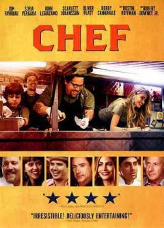 dvd chef restaurant food truck cover art