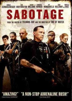 dvd sabotage arnold cover art
