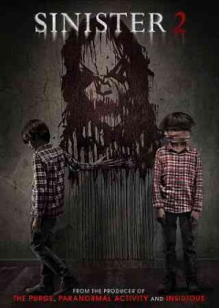 dvd sinister 2 sequel cover art