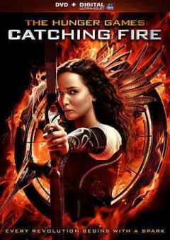 dvd catching fire hunger games cover art