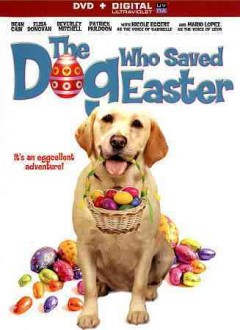 dvd dog who saved easter cover art