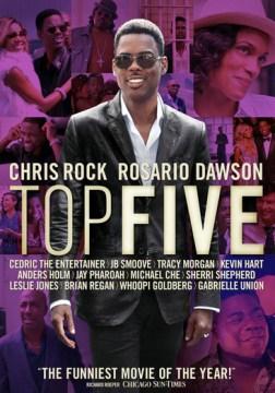 dvd top five comedian cover art