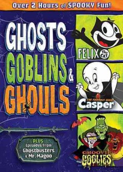 dvd ghosts goblins ghouls cover art