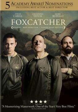 dvd foxcatcher cover art