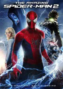dvd amazing spider-man 2 conflict cover art