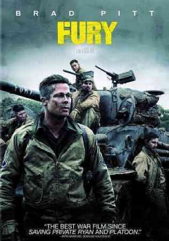 dvd fury brad april cover art