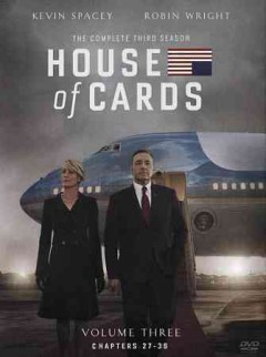 dvd house cards complete third kevin cover art