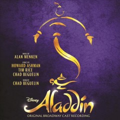 aladdin alan menken original broadway cover art