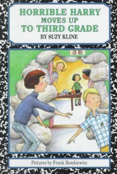 Horrible Harry Moves Up to 3rd Grade cover art