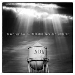 blake shelton bringing back sunshine cover art