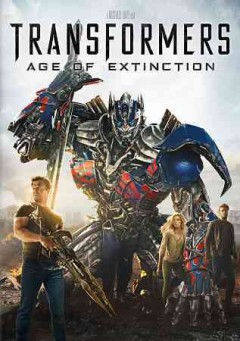 transformers age of extinction dvd videorecording cover art