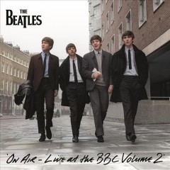 beatles live at the bbc volume 2 on air cover art