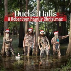duck the halls christmas robertson cover art