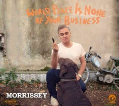 morrissey world peace is none of your business cover art