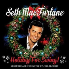 seth macfarlane holiday for swing cover art