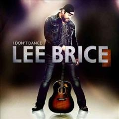 lee brice i dont dance cover art