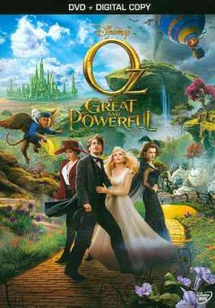 dvd oz great powerful cover art