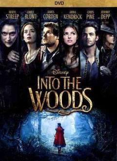 dvd into the woods twist cover art