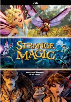 dvd strange magic fairy tale cover art