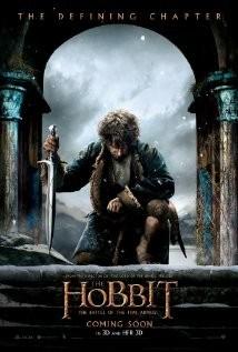 hobbit battle five armies dvd cover art