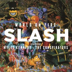 slash world on fire cover art