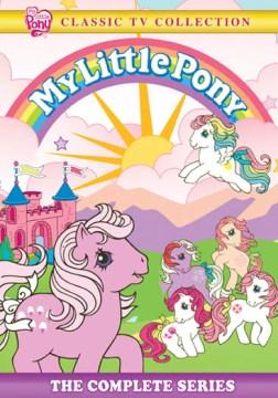dvd my little original ponyland cover art