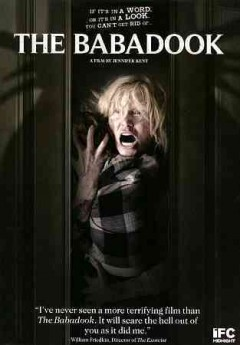 dvd babadook cover art