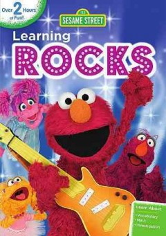dvd sesame street learning rocks cover art