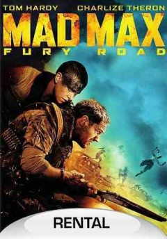 dvd mad max fury cover art