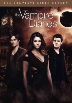 dvd vampire diaries 6th cover art