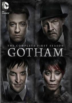 dvd gotham season complete first james gordon cover art