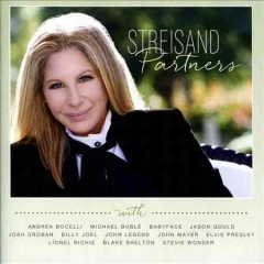barbra streisand partners cover art