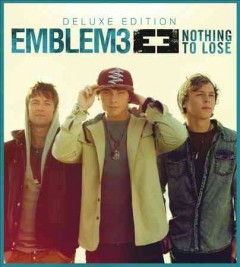 emblem3 nothing to lose cover art