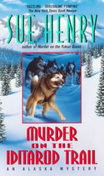 Murder on the Iditarod Trail cover art