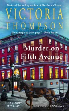 Murder in Fifth Avenue cover art
