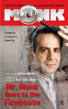 Mr. Monk Goes to the Firehouse cover art