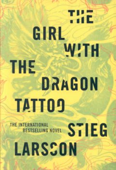 The Girl with the Dragon <br />Tattoo cover art